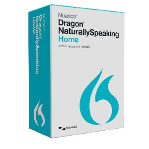 Dragon Naturally Speaking 13 Home 1 PC Box