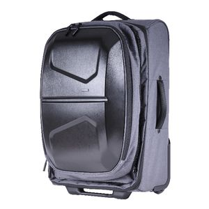 Data Shell Trolley With Backpack Grey