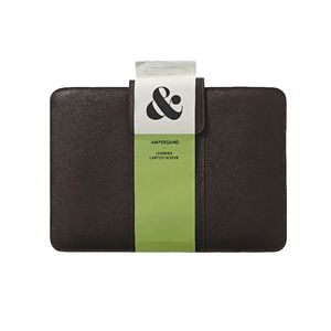 "Ampersand 13"" Leather Notebook Sleeve Brown"