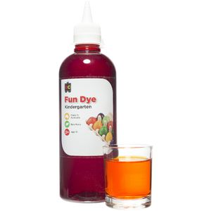 Educational Colours Kindergarten Liquid Fun Dye 500mL Orange