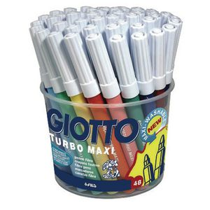 Giotto Colour Markers 48 Pack