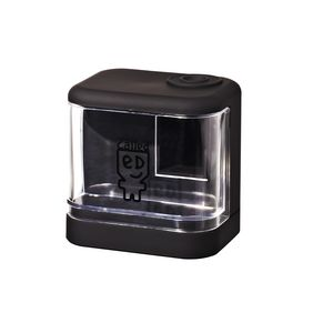 a brand called eD Battery Operated Pencil Sharpener Black