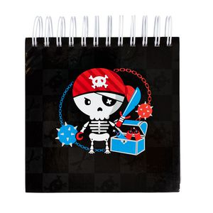 a brand called eD Pirate Jotter 500 Page Black