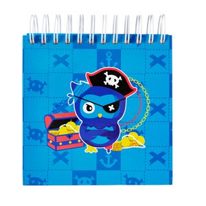 a brand called eD Pirate Jotter 500 Page Blue