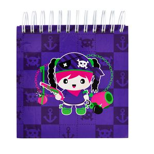 a brand called eD Pirate Jotter 500 Page Purple