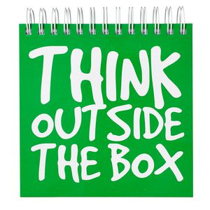 Ed Think Outside the Box Jotter 500 Page