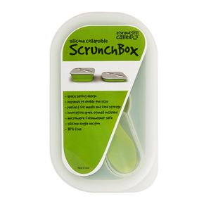 A brand called eD Scrunch Snack Box Green