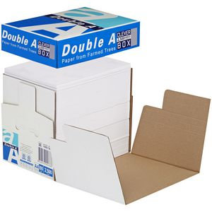 Double A 80gsm A4 Copy Paper 2500 Sheet Clever Box