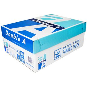 Double A 80gsm A3 Copy Paper 500 Sheet Ream