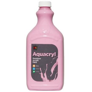Educational Colours Aquacryl Paint 2L Pink