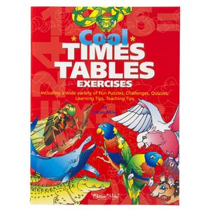 Cool Times Tables Exercise Activity Book