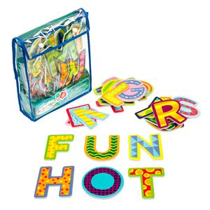 Learning Can Be Fun Bath Time Stickers Alphabet