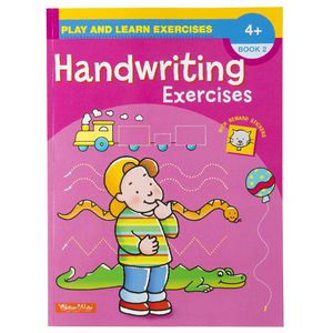 Play and Learn Hand Writing Exercise Book 2