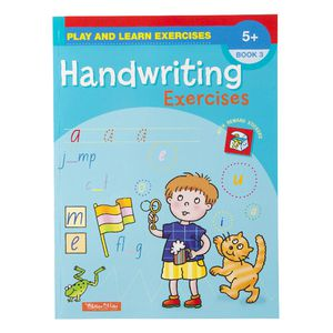 Play and Learn Hand Writing Exercise Book 3