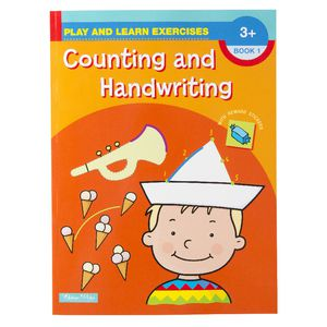 Play and Learn Counting and Handwriting Book 1