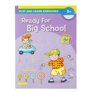 Play and Learn Ready for Big School Book
