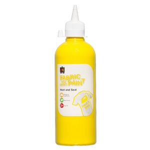 Educational Colours Fabric and Craft Paint 500mL Yellow
