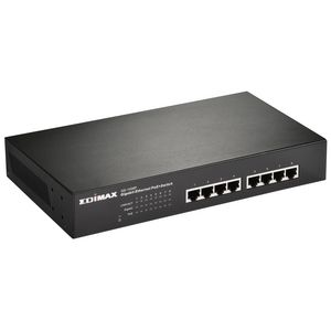 EDIMAX 8-Port Fast Ethernet PoE+ Switch