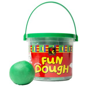 Educational Colours Fun Dough Green 1.2kg