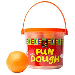 Educational Colours Fun Dough Orange 1.2kg