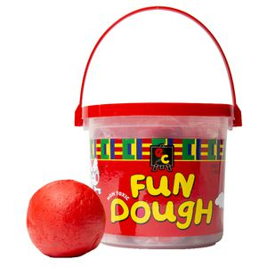 Educational Colours Fun Dough Red 1.2kg