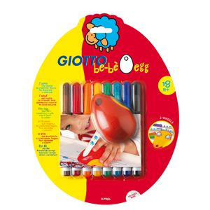 Giotto Be-Be Egg with 8 Markers