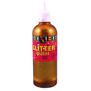Educational Colours Glitter Paint 500mL Multicolour