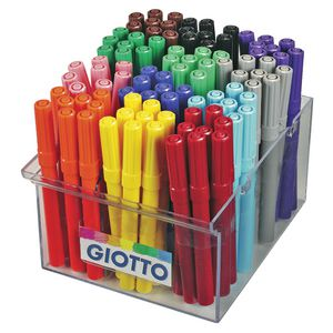 Giotto Turbo Colour Markers 144 Pack