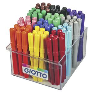 Giotto Turbo Maxi Markers 96 Pack