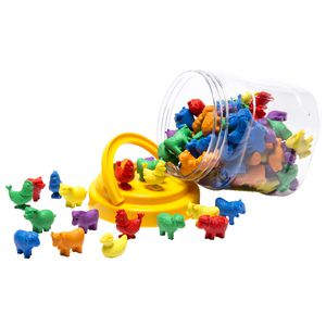 Learning Can Be Fun Farm Animal Counters 108 Pack