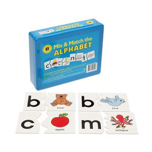 Learning Can Be Fun Mix and Match The Alphabet