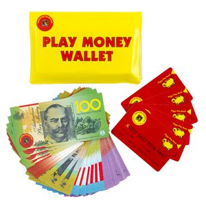 Learning Can Be Fun Play Money Wallet