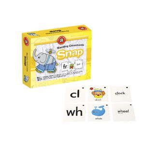 Learning Can Be Fun Blending Consonants Snap Game