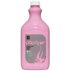 Educational Colours Liquitemp Paint 2L Pink