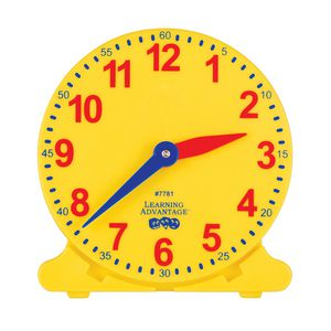 Educational Colours Right On Time Clock Set 25 Pack