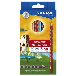 Lyra Groove Colour Pencils 10 Pack