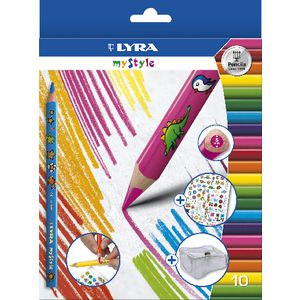 Lyra My Style Coloured Pencils 10 Pack