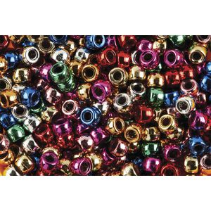 Educational Colours Pony Beads Metallic 1000 Pack