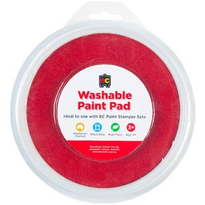 Educational Colours Paint Stamper Pad Red