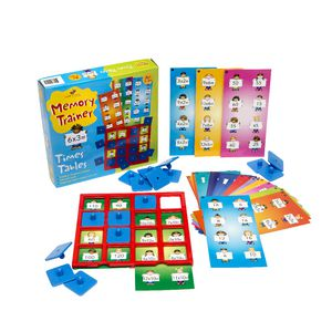 Top Class Memory Trainer Game Times Tables