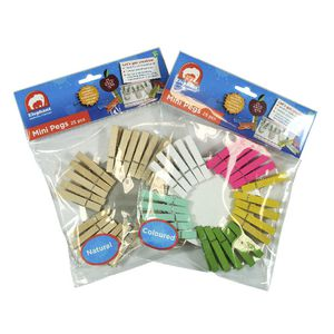 ELC Mini Pegs 25 Pack