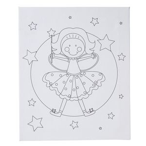 Paint It Canvas Set Fairies Design