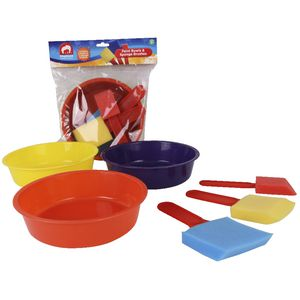 ELC Paint Bowls and Sponge Brushes 3 Pack