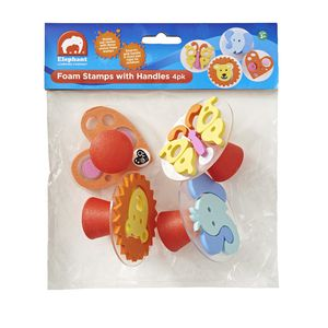 ELC Kids Foam Stamps with Handles 4 Pack