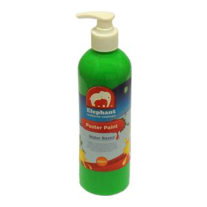 ELC Poster Paint Fluro Green 500mL