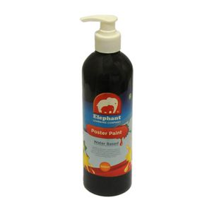 ELC Poster Paint Black 500mL