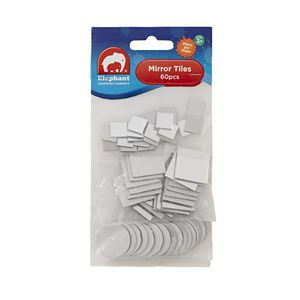 ELC Mirror Tile Shapes 60 Pack