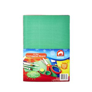 ELC A4 Corrugated Board Assorted Colours 10 Pack