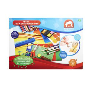 ELC A3 3 in 1 Construction Pad 24 Sheets