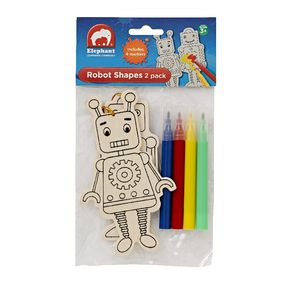Elephant Learning Company Robot Shapes 2 Pack